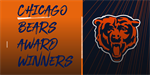 Warren's Maurice Edwards and LaSalle-Peru head coach Jose Medina Honored By Chicago Bears