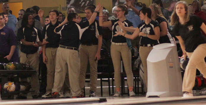 Belleville East Bowlers Honor Team Manager On Senior Night