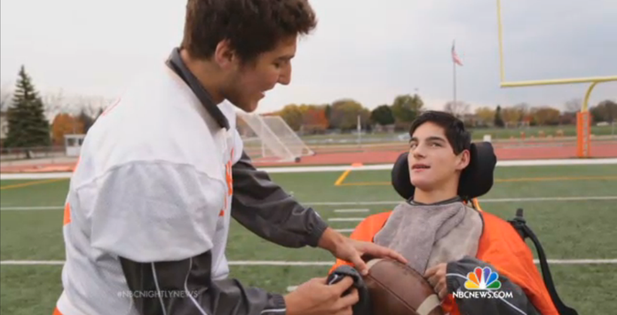 Hersey Football Teams Up With Special Olympics