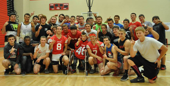 Lawrenceville Football Team Helps Boy Live His Dream