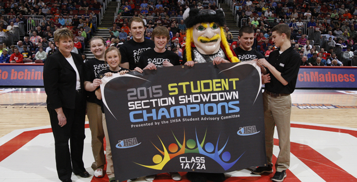 Central A&M Wins IHSA Class 1A/2A Student Section Showdown