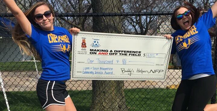 Crete-Monee Girls Soccer Team Honored For Community Service