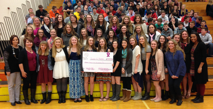 Pekin Volley For The Cure Match Raises Over $15,000 As Illinois Total Passes $60,000 In 2015
