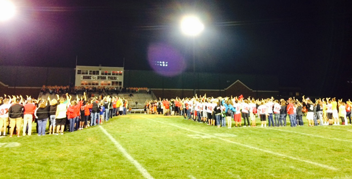 Stillman Valley & Byron Gather To Remember Car Accident Victims