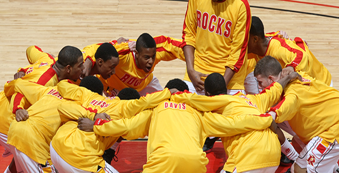 Rock Island High School Football & Basketball Teams Score For Education