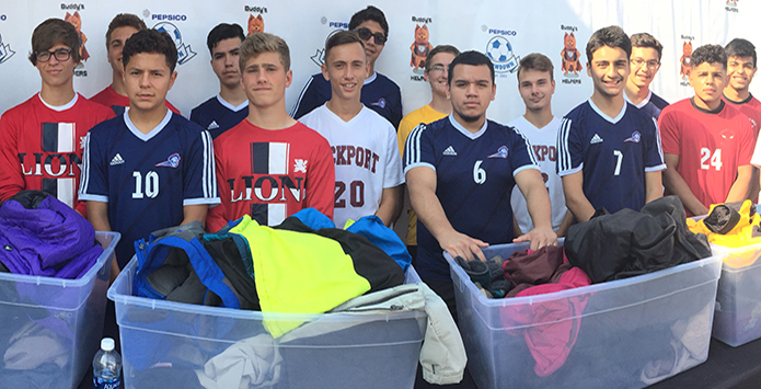 Student-Athletes Help Homeless, Raise Awareness For National Suicide Awareness Month