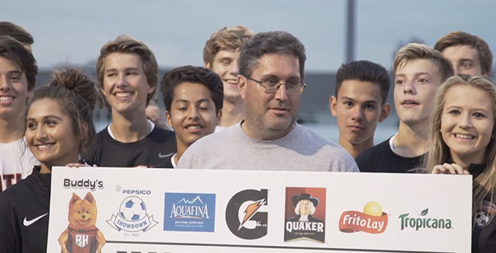 Dad of Huntley HS Student-Athletes Recognized For Going Above & Beyond