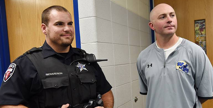 Wheeling High School Coaches Save Officials Life With CPR & AED