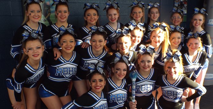 Riverside-Brookfield Cheer Squad Bonds With Lincoln-Way West Over Familiar Adversity