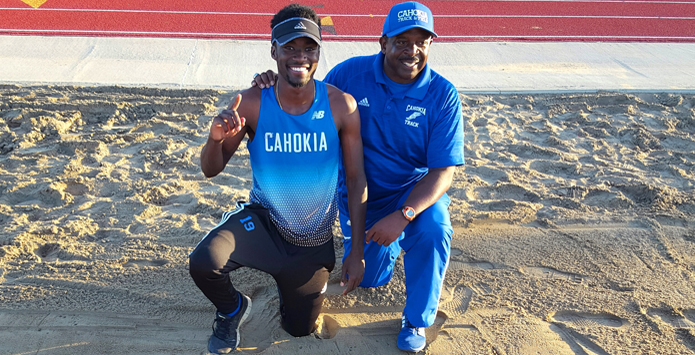 Cahokia's Ja'Mari Ward Sets National Record In Triple Jump