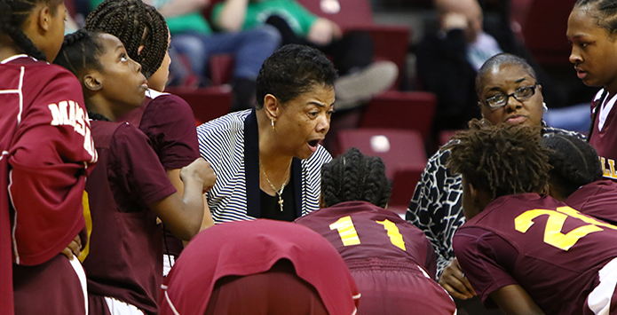 Marshall Girls Basketball Coach Dorothy Gaters Part of NFHS National High School Hall of Fame Class