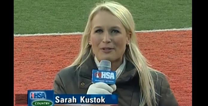 Sarah Kustok, Sandburg Alum & NBA Broadcaster, Makes History
