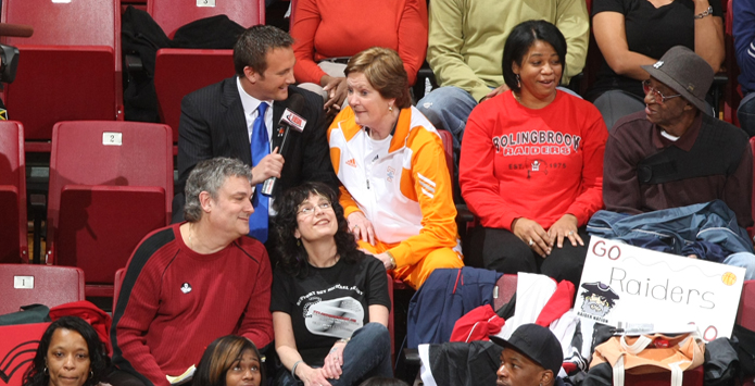 Legendary Coach Pat Summitt Interview on 2011 IHSA Girls Basketball State Final Broadcast