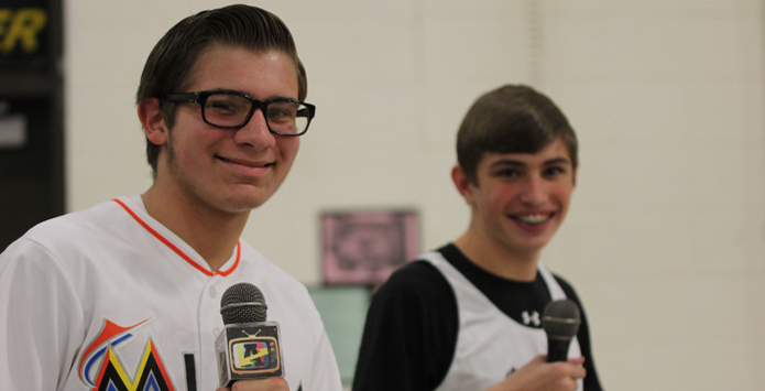 Andrew HS Student Stars On NFHS Broadcasts, Draws Big Names To Podcast