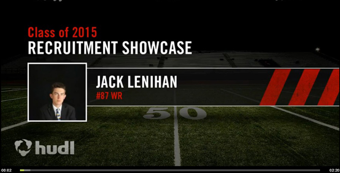 """The Lenihan Factor"": Barrington Football Player's Mock Recruitment Video Goes Viral"