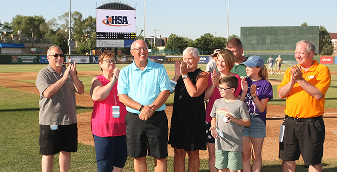 2016-17 IHSA Distinguished Media Service Award – Dave Bernhard