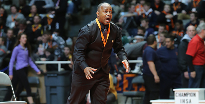 Chicago Fire: Firefighter/Coach Ron Wilson Has Built Bowen Wrestling Into CPS Power