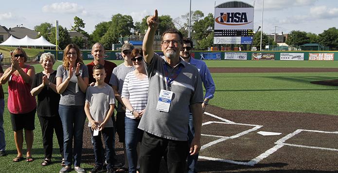 2017-18 IHSA Distinguished Media Service Award – Dick Goss