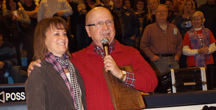 2013-14 IHSA Distinguished Media Service Award – Bob Frisk