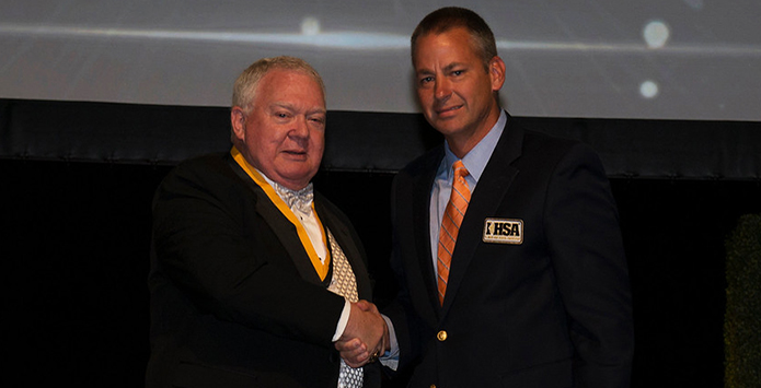 Bill Laude Inducted Into NFHS National High School Hall of Fame