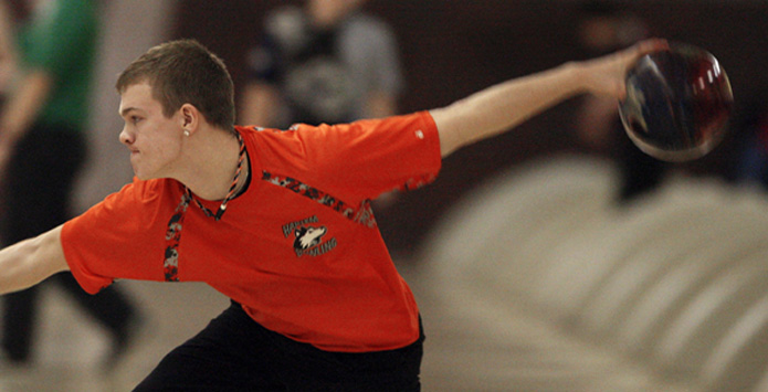 Harlem's Jacob Nimtz Bowls Two Perfect Games En Route To New State Final Record