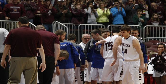 Rockridge's Surprise Starters Produce Memorable March Madness Moment