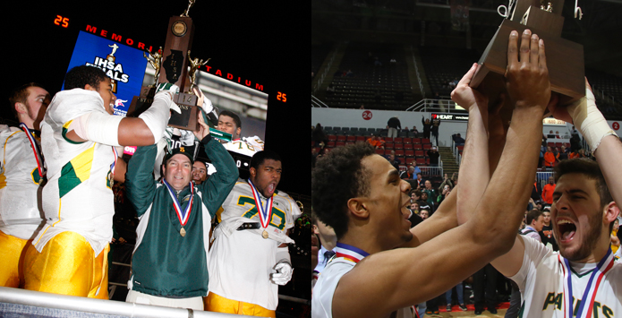 Stevenson Makes History With Football & Basketball State Titles In Same School Year