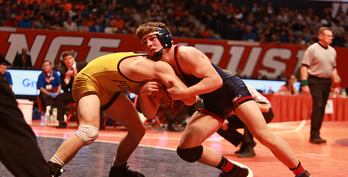 St. Rita's Austin O'Connor Seeks To Become A Part Of IHSA Wrestling History