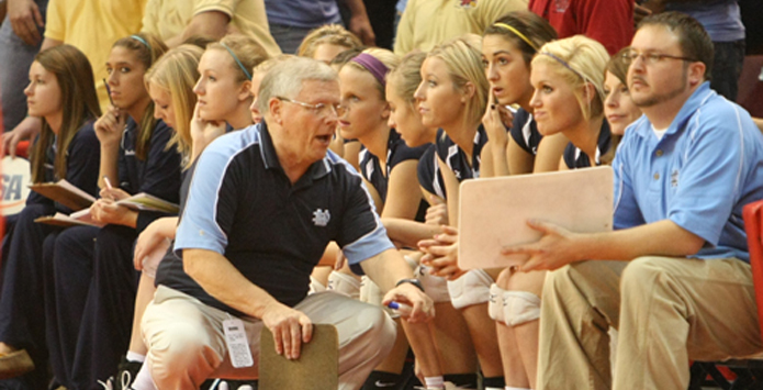 Mater Dei Girls Volleyball Coach Fred Rakers (1945-2013)