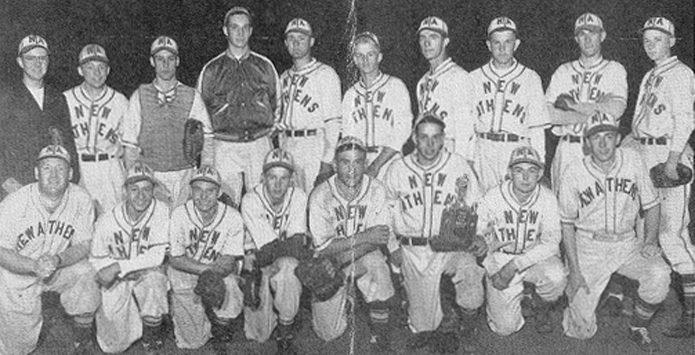 "New Athens'  ""Whitey"" Herzog in 1948 IHSA Baseball State Finals"