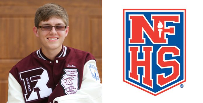 Rockridge's Gabe Stanforth Named IHSA Nominee For NFHS Heart of the Arts Award