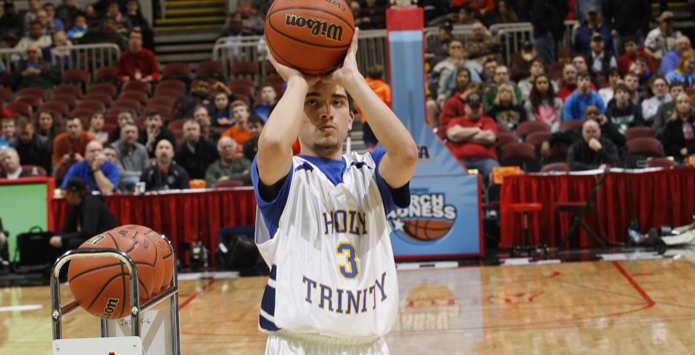 Holy Trinity's Cristian Camarillo is 2016 Country Three-Point Showdown King of the Hill