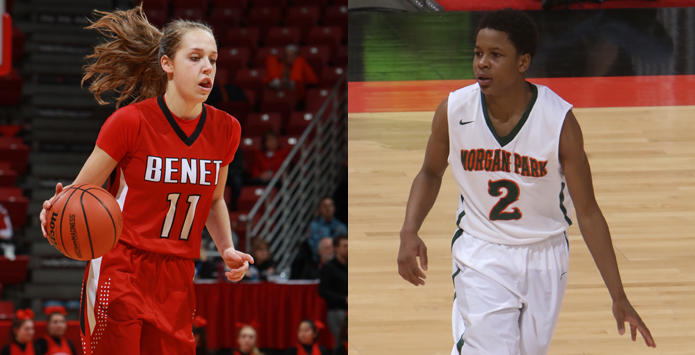 Benet's Kathleen Doyle, Morgan Park's Charlie Moore Named Ms. & Mr. Basketball by Chicago Tribune