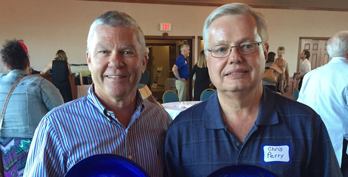 Chris Perry and Ron McGraw Honored By Peoria Area Convention & Visitors Bureau