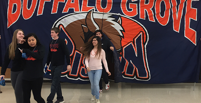 Buffalo Grove's Sabrina Kenoun Named Section Winner of NFHS Heart of the Arts Award