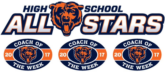 2017 Chicago Bears Weekly High School All-Star Player & Coach of the Week