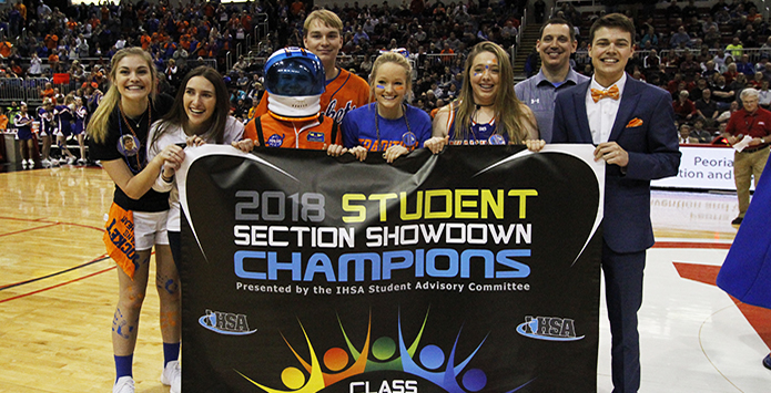 Okawville Repeats as IHSA Class 1A/2A Student Section Showdown Champs
