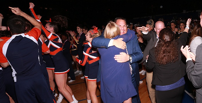 Buffalo Grove's Jeff Siegal Named National Spirit Coach of the Year by the NFHS