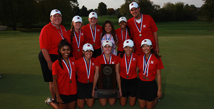 Barrington Girls Golf Coach Jodi Schoeck Named NHSACA Coach of the Year