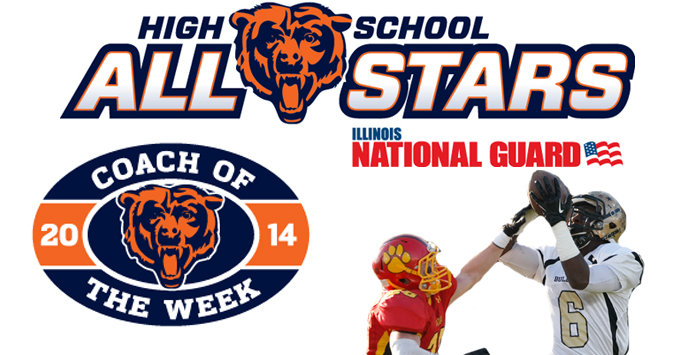 2014 Chicago Bears Weekly High School All-Star Player & Coach of the Week