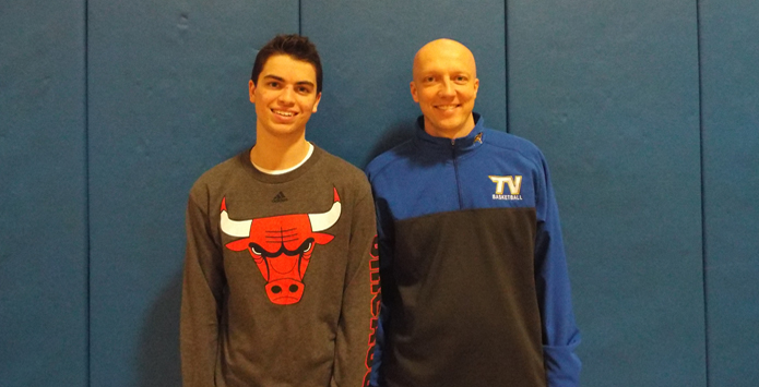 Tri-Valley's Austin Spencer & Basketball Coach Jon Nelson Named Spirit of Sport Nominees