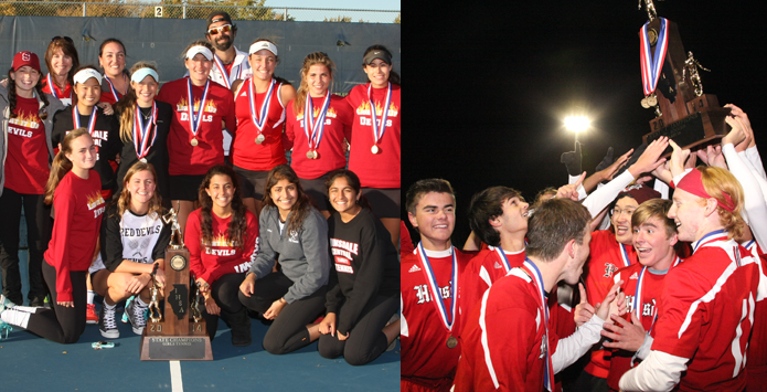 Hinsdale Central Honors Historic Fall State Champion Teams