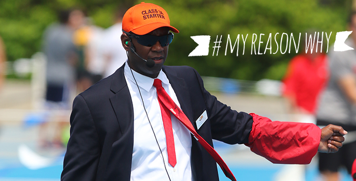 #MyReasonWhy: IHSA Track & Field and Cross Country Official Jamero Rainey