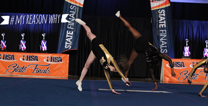 #MyReasonWhy: IHSA Cheerleading & Dance Official Shaunda Brown