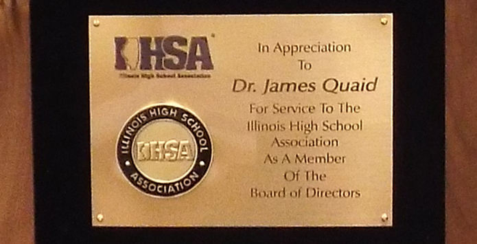 Jim Quaid On Serving Nine Years On IHSA Board