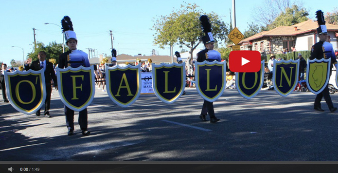 O'Fallon High School Band Plays the Rose Parade