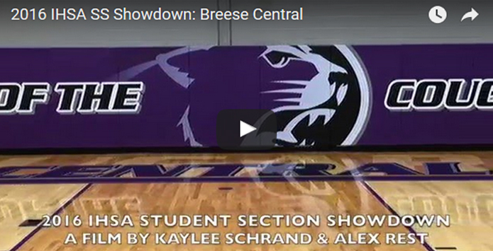 Class 1A/2A 2016 IHSA Student Section Showdown Entries