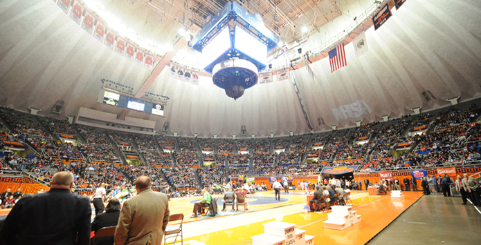 Get Ready for State Wrestling at Renovated State Farm Center at www.LegendsPlayHere.com
