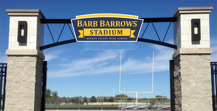 Neuqua Valley High School Renames Stadium For Longtime Athletic Director Barb Barrows