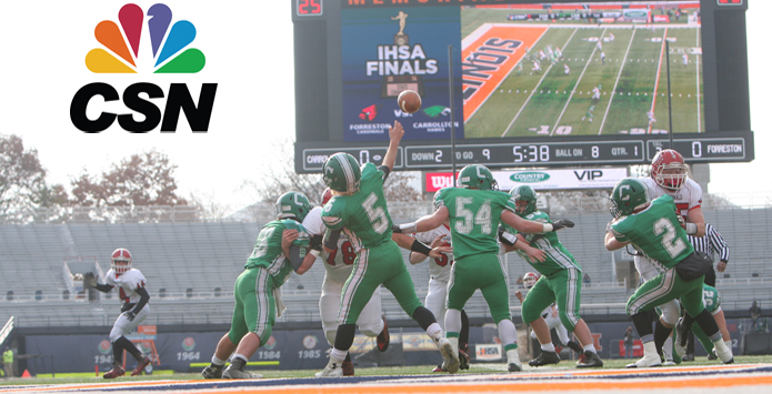 CSN Chicago is Your Home for IHSA Football Playoff Pairings on October 22